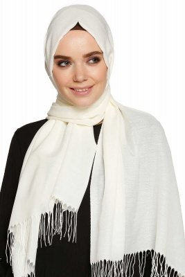 Buse - Offwhite Hijab - Sehr-i Sal