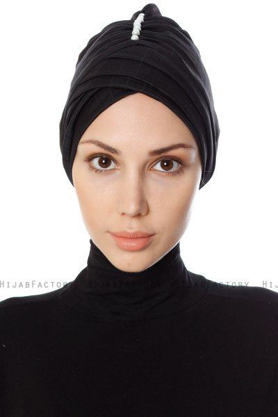 Yonca - Sort Turban